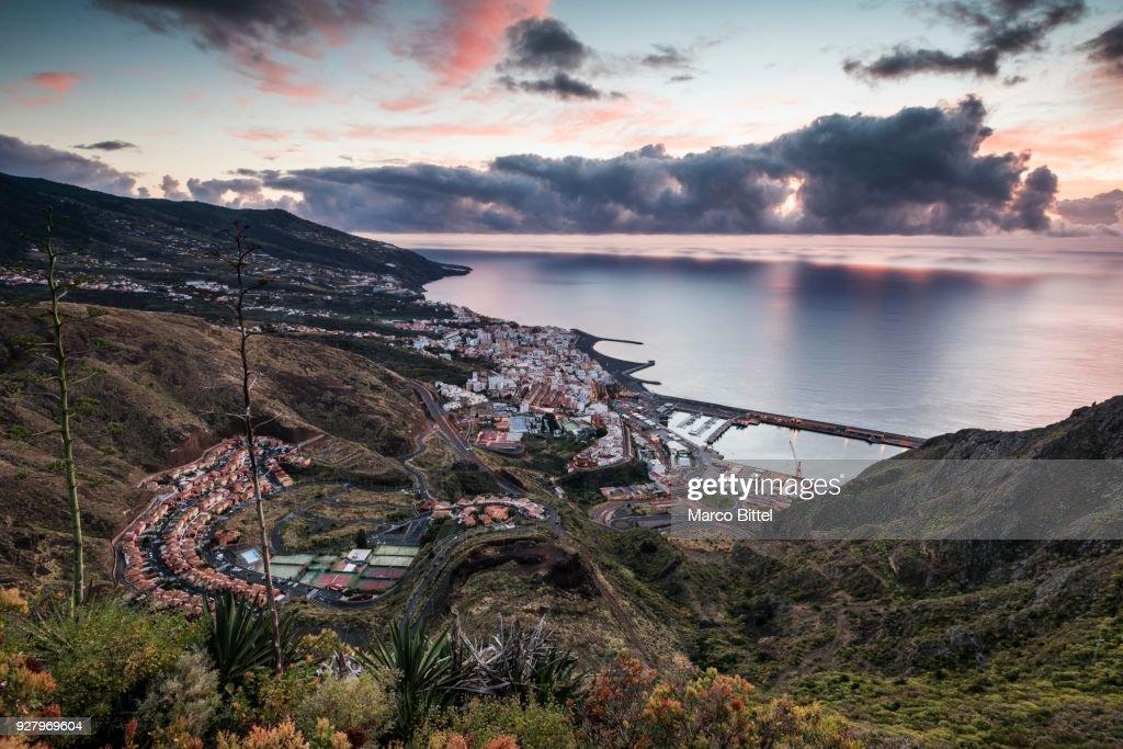 View Of Santa Cruz De La Palma From The Viewpoint Of La Concepcion ...