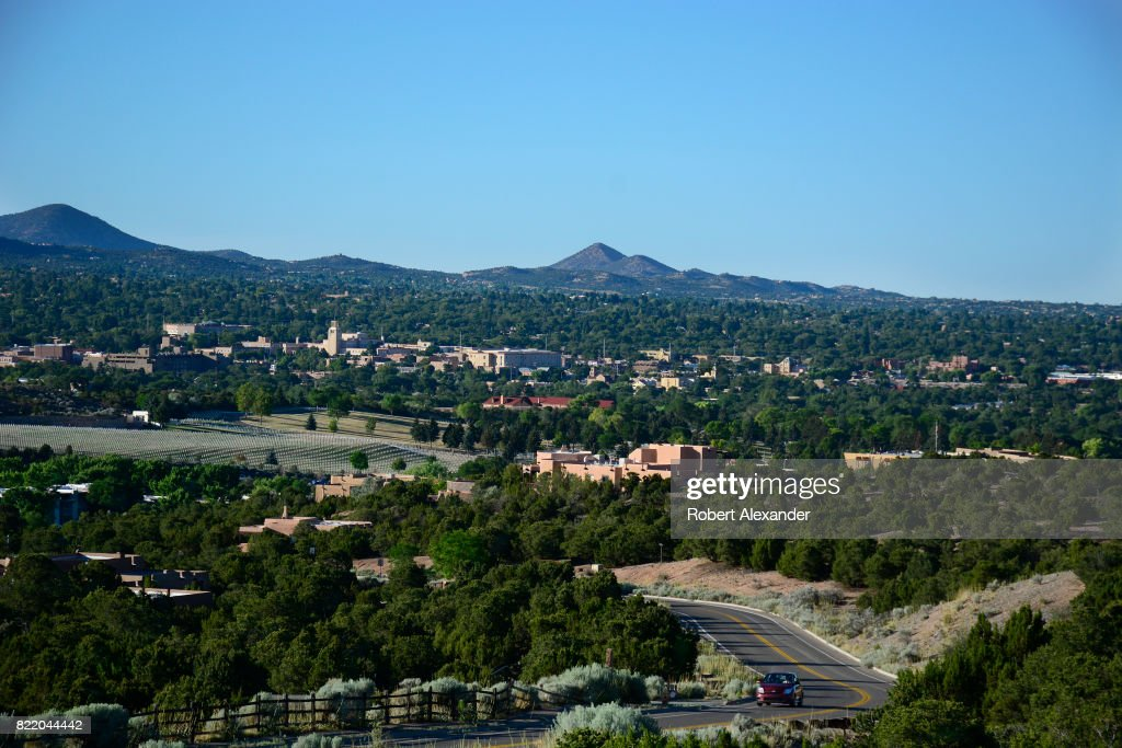 Santa Fe, New Mexico : Nachrichtenfoto