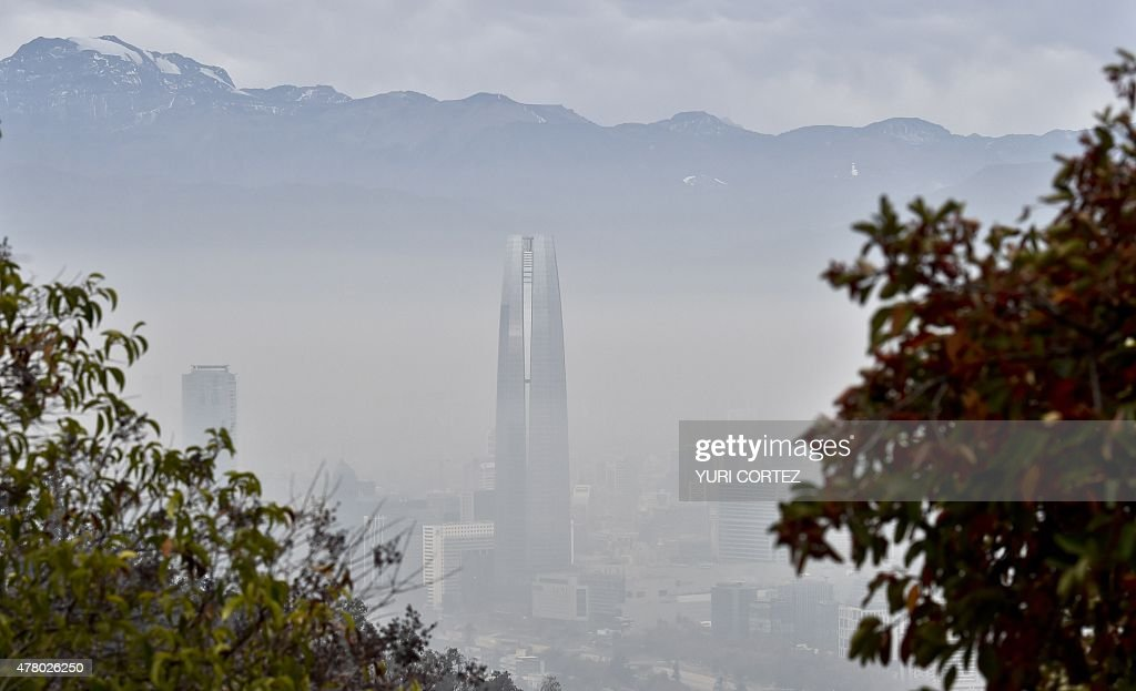 CHILE-SMOG : News Photo
