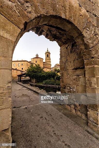 View of Santo Domingo de Silos, Burgos, Spain