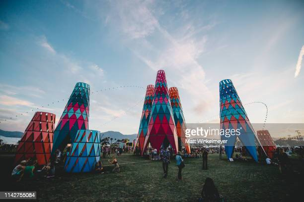 A view of Sarbale ke during the 2019 Coachella Valley Music and Arts Festival Weekend 1 Day 3 on April 14 2019 in Indio California