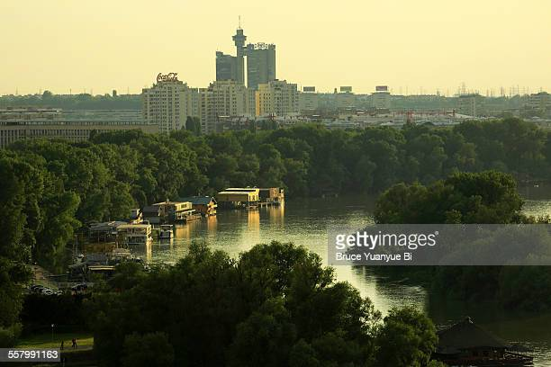 View of Sava River and Genex Tower