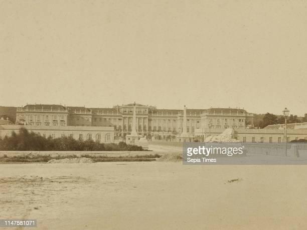 View of Schšnbrunn Palace in Vienna Austria Carl Haack 1850 1900