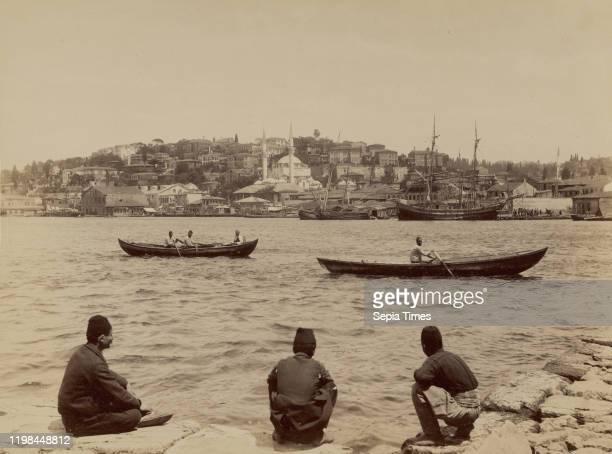 View of Scutari; Abdullah Freres ; Scutari, Turkey; 1858 - 1899; Albumen silver print.