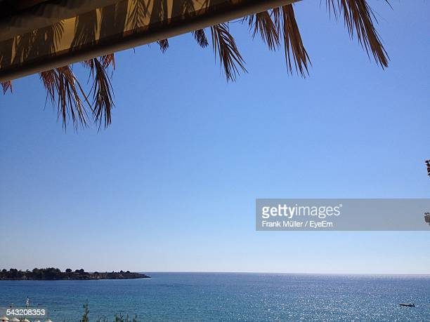 View Of Sea From Beach Hut