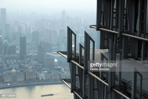 View of Shanghai from Jin Mao Tower, China