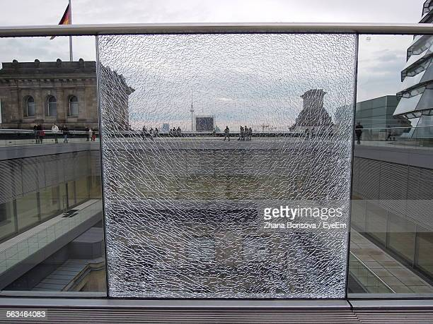View Of Shattered Glass, Fernsehturm In Background