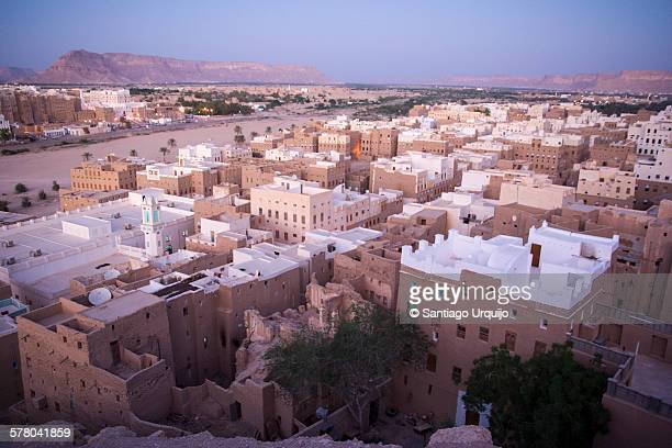 View of Shibam at sunset