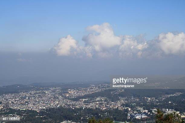 View of Shillong City, from Shillong View Point