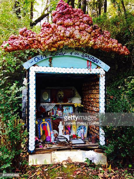 view of shrine worship - faith rogers stock pictures, royalty-free photos & images