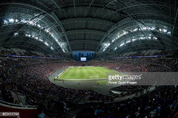 A view of Singapore National Stadium during the International Champions Cup match between Chelsea FC and FC Bayern Munich on July 25 2017 in Singapore