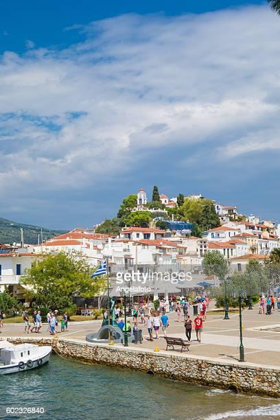 View of Skiathos Island, Greece