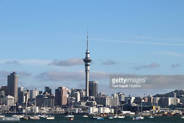 View Of Sky Tower In Auckland