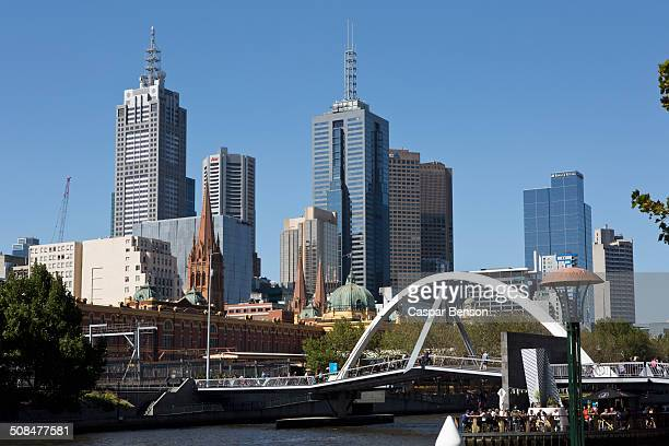View of skyline against clear sky, Melbourne, Australia