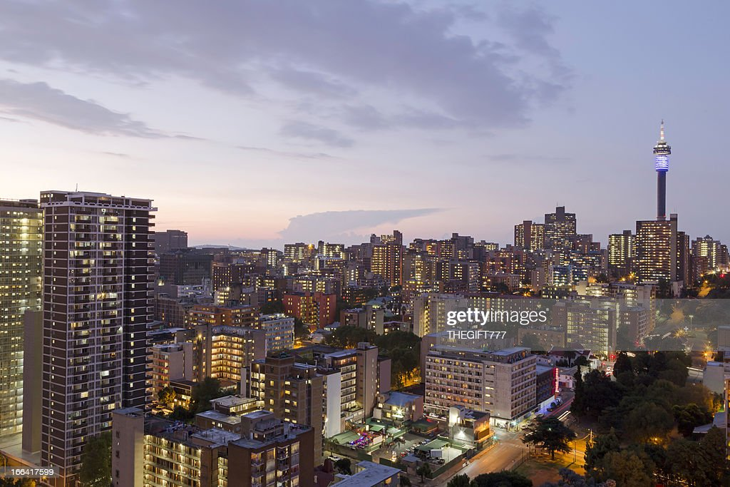 View of skyline of johannesburg south africa stock photo getty images view of skyline of johannesburg south africa stock photo thecheapjerseys Images