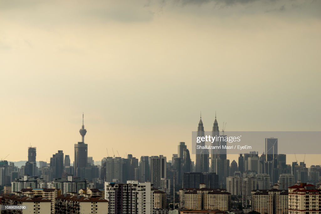 View Of Skyscrapers In City : Stock Photo