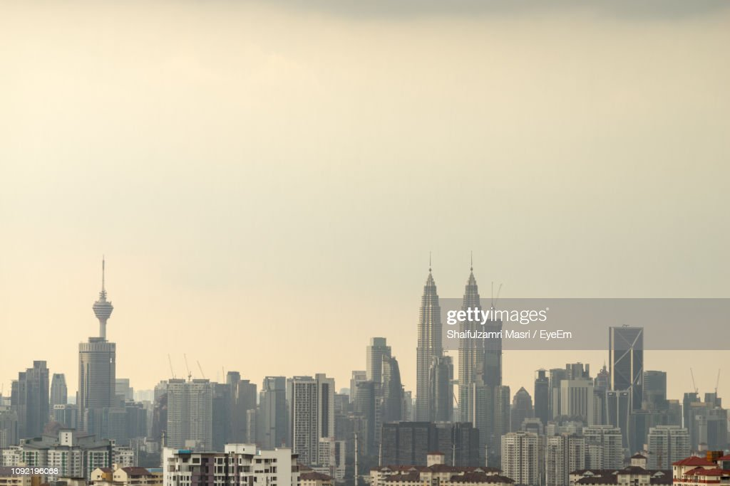 View Of Skyscrapers In City : Stockfoto