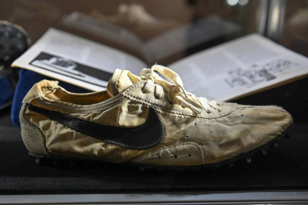 """NY: Sotheby's Auctions """"The Ultimate Sneaker Collection"""" In New York City"""