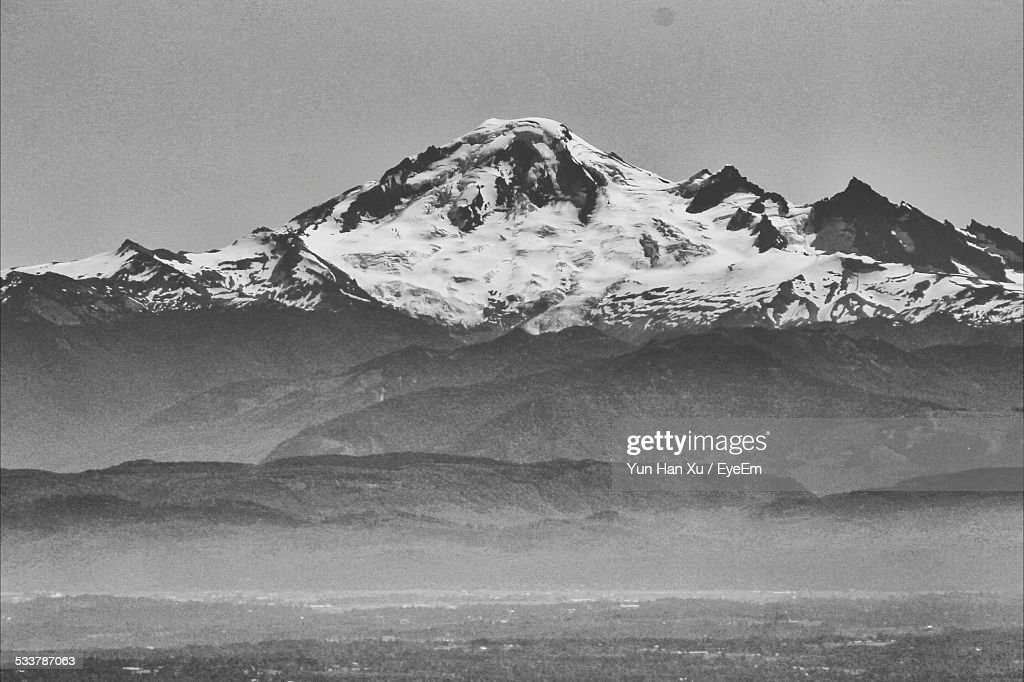 View Of Snowcapped Mountain : Foto stock