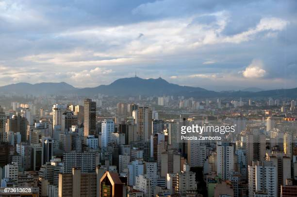 view of são paulo downtown - são paulo stock pictures, royalty-free photos & images