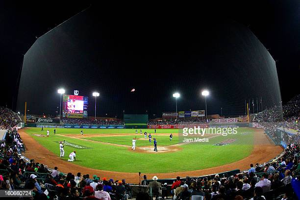 View of Sonora stadium during the Caribbean Series Baseball 2013 in Sonora Stadium on February 2 2013 in Hermosillo Mexico