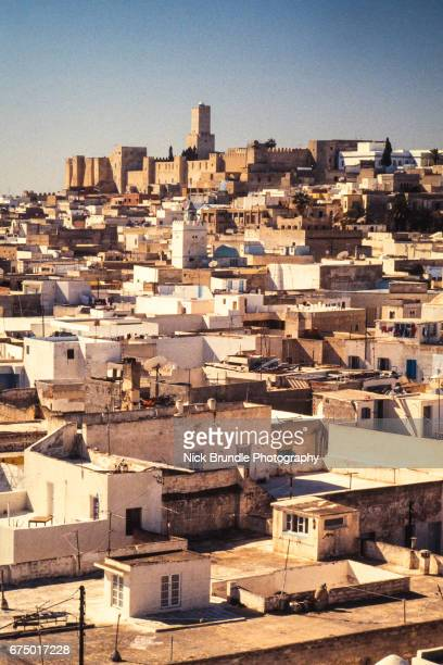 view of sousse, tunisia - sousse stock pictures, royalty-free photos & images