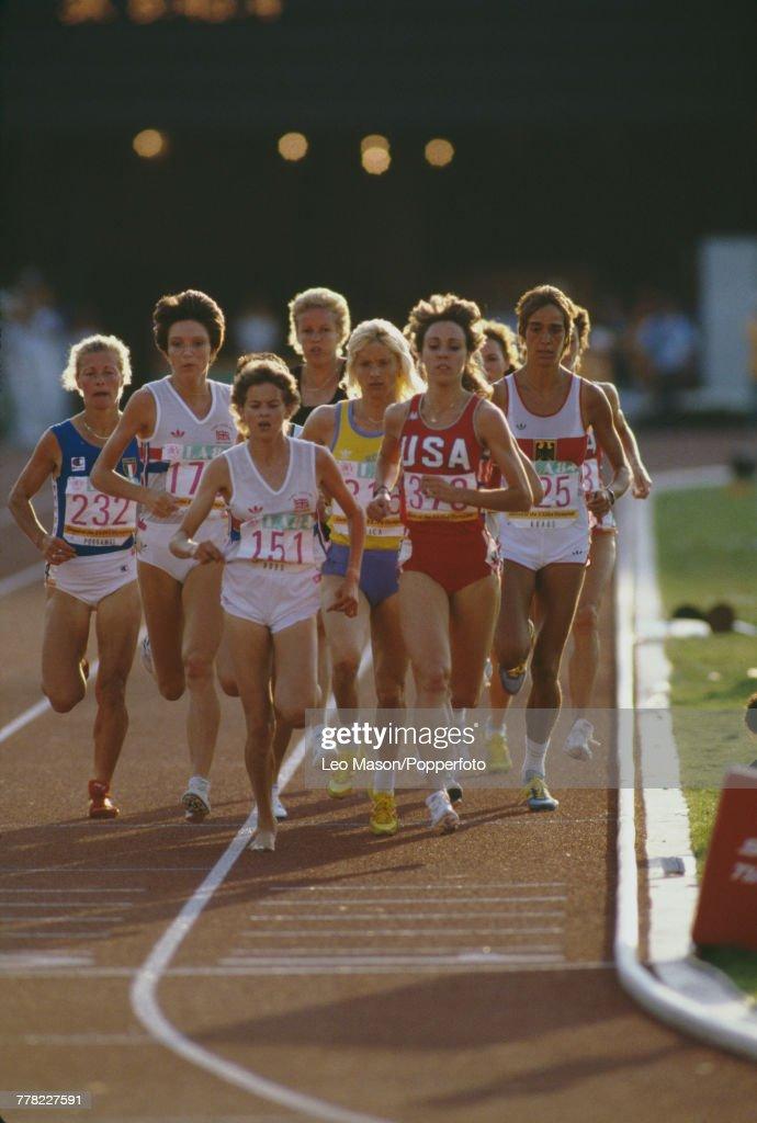 Athletics At XXIII Summer Olympics : News Photo