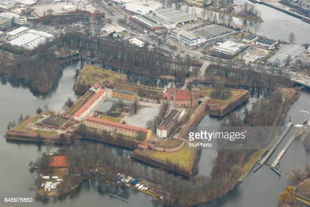 A view of Spandau Citadel one of the bestpreserved Renaissance military structures of Europe located in West Berlin area near Berlin Tegel Airport On...