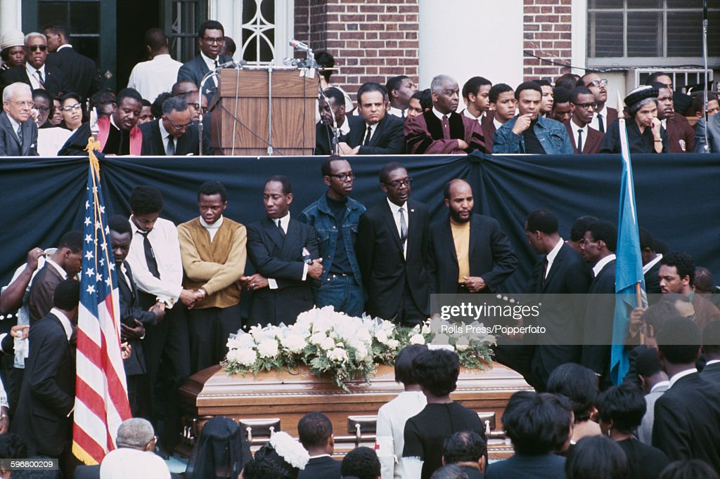 Funeral Of Martin Luther King : News Photo