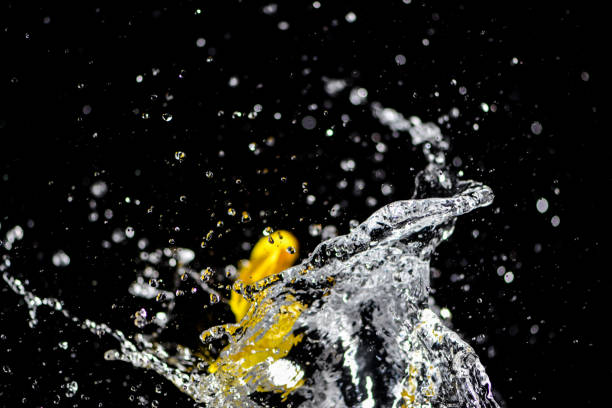 View Of Splashing Water