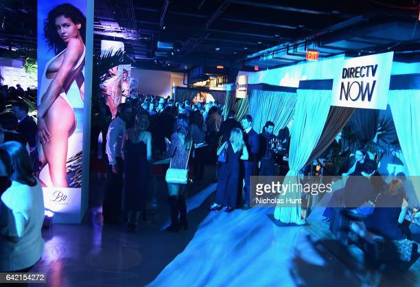 View of Sports Illustrated Swimsuit 2017 NYC launch event at Center415 Event Space on February 16 2017 in New York City