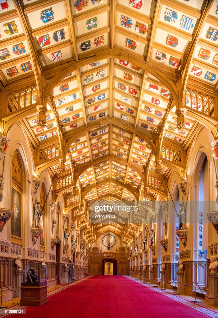 St George's Chapel at Windsor Castle : News Photo