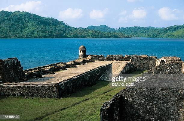 View of St Jerome Fort Portobelo Colon Panama