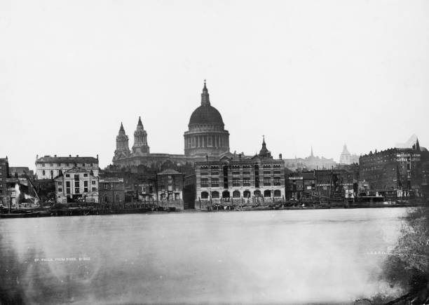 St Paul's From River Wall Art