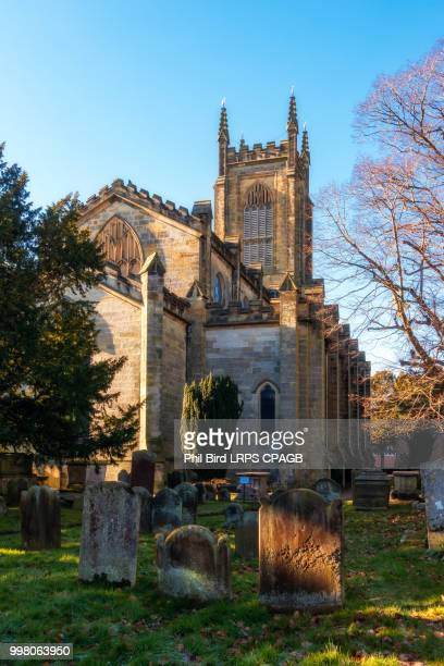 View of St Swithun's Church in East Grinstead