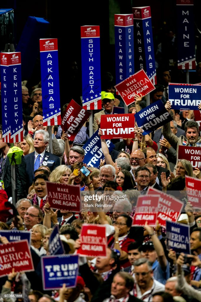 Delegates At The RNC : ニュース写真