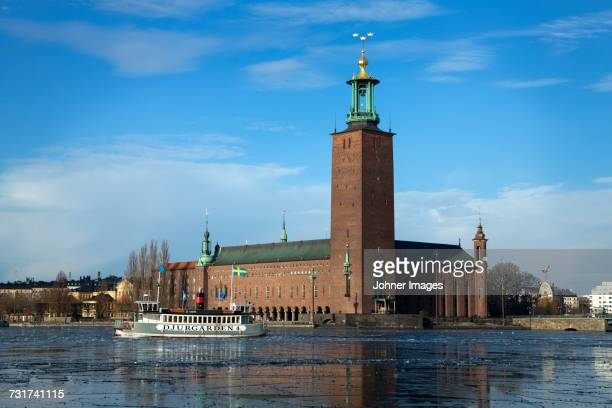 View of Stockholm City Hall , Sweden