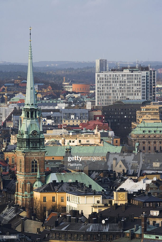 View of Stockholm Sweden. : Stock Photo