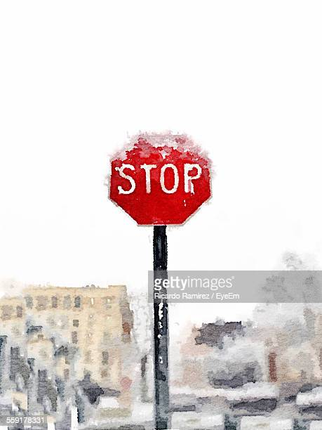 View Of Stop Sign