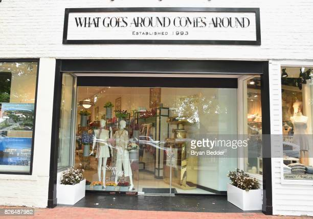 2ae90aa773cff7 A view of store exterior during the Rachel Zoe x What Goes Around Comes  Around popin