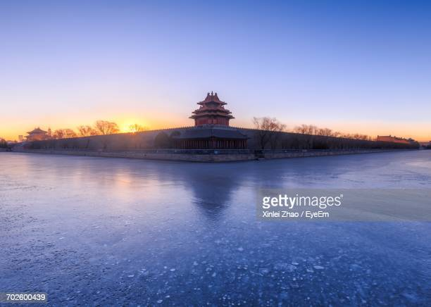 View Of Summer Palace At Sunset