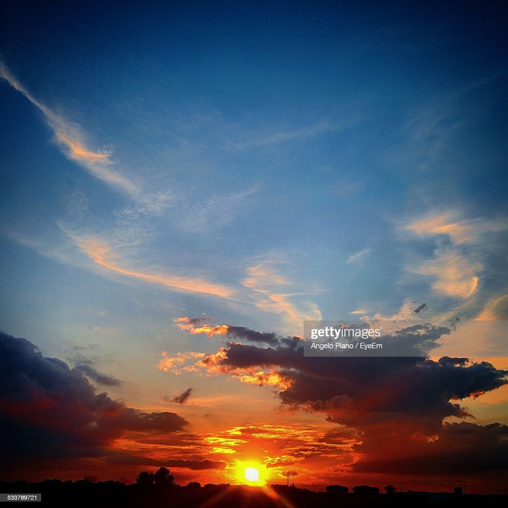 View Of Sunset : Foto stock