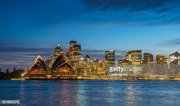 View of Sydney city.