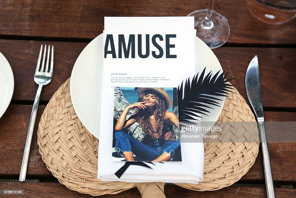 FL: Amuse Society Miami Swim Week Dinner