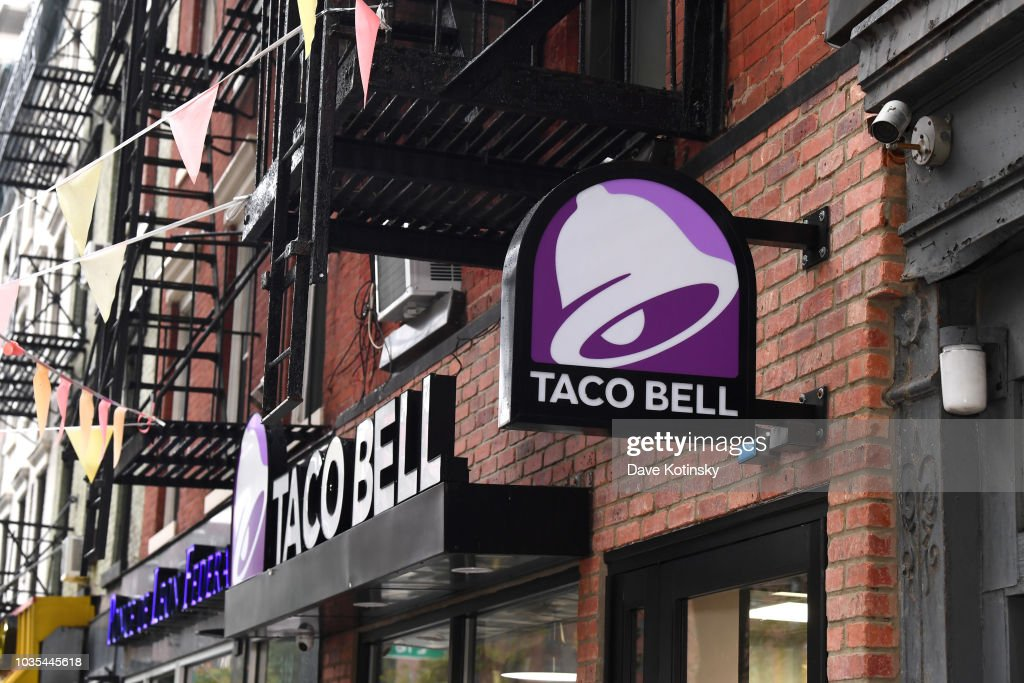 Taco Bell Is Taking National Taco Day Global : News Photo