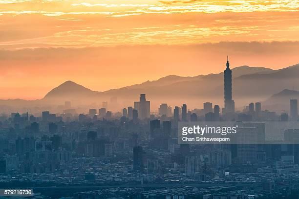 View of Taipei city , Taiwan