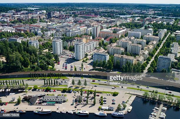タンペレ、フィンランドの眺め - タンペレ ストックフォトと画像