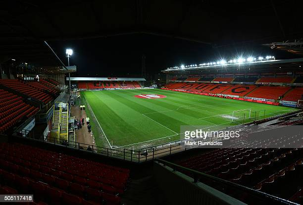 A view of Tannadice Park ahead of the Ladbrokes Scottish Premiership match between Celtic FC and Dundee United FC at Tannadice Park on January 15...