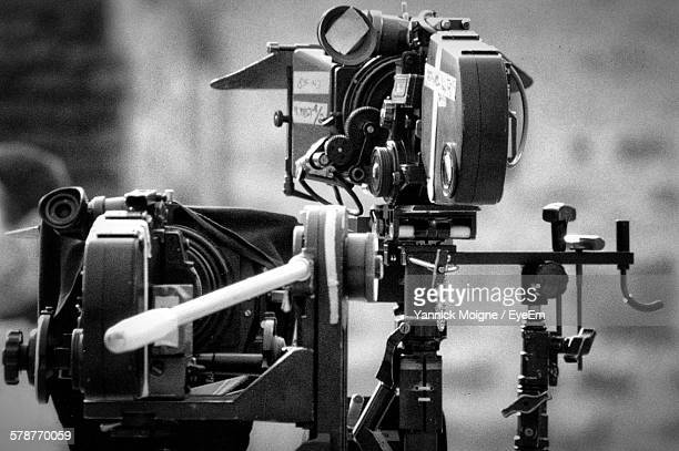 View Of Television Camera