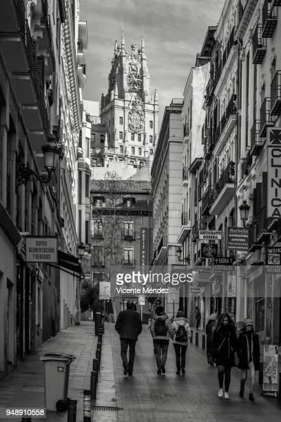 View of Tetuán street (Madrid)